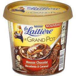 Le Grand Pot - Mousse chocolat macadamia caramel