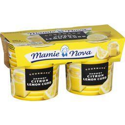 Gourmand - Yaourt citron Lemon Curd
