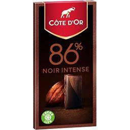 Chocolat 86% noir intense