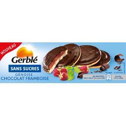 Sans Sucres - Génoise chocolat framboise