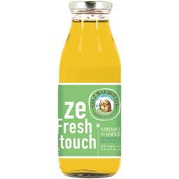 Les 2 marmottes Ze Fresh Touch - Boisson anis vert fenouil et citron la bouteille de 50 cl