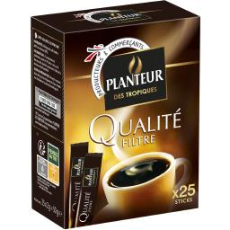 Café soluble Qualité Filtre