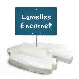 Lamelles d'ENCORNETS (produit décongelé)