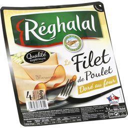 Le Filet de Poulet doré au four halal