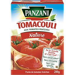 Tomacouli - Purée 100% tomates fraîches nature