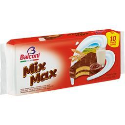 Mix Max, mini génoises fourrées et enrobées au cacao
