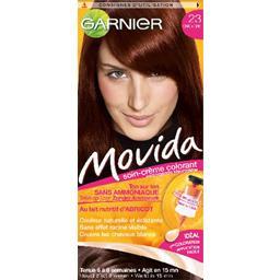 Movida Soin-crème colorant, ton sur ton sans ammoniaque, 23-châtaigne
