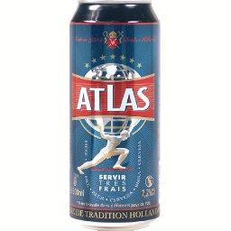Atlas Bière blonde de tradition hollandaise