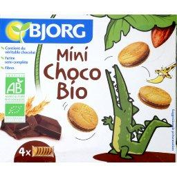 Mini goûters BIO fourrés au chocolat au lait
