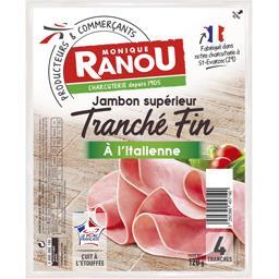 Jambon supérieur Tranché Fin à l'italienne