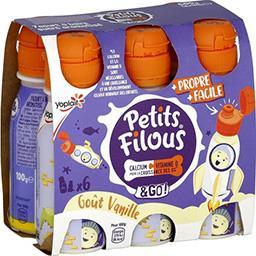 Petits Filous - Yaourt à boire goût vanille