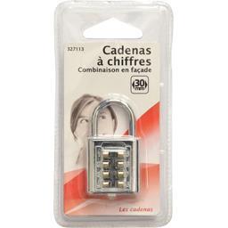Cadenas à chiffres 30mm