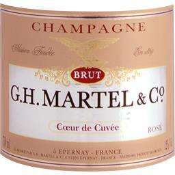 Champagne rosé brut Cœur de Cuvée