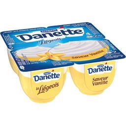 Danette - Dessert Le Liégeois saveur vanille