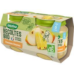 Les Récoltes BIO - Pommes ananas BIO, dès 6 mois