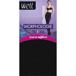 Morphologie - Collant Slim noir T +1,65m
