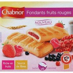 Biscuits Sabléo au cœur moelleux fruits rouges
