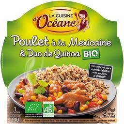Poulet à la Mexicaine & duo de quinoa BIO