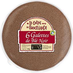 La Crêpe Brocéliande Galettes de blé noir le paquet de 390 g
