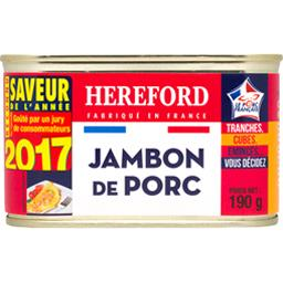 Hereford Jambon de Porc 190 g - Lot de 6