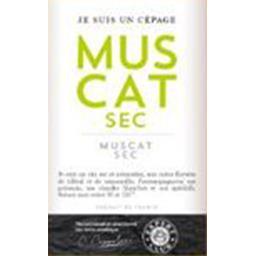 Vin de pays d'Oc Muscat sec, vin blanc