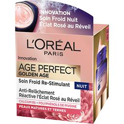 Age Perfect - Soin riche re-fortifiant nuit Golden A...
