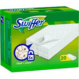 Swiffer Lingettes sèches pour le balai swiffer sweeper