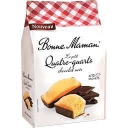 Bonne Maman Le Petit Quatre-quarts chocolat noir