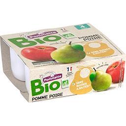 Purée de pomme poire BIO, dès 4 mois