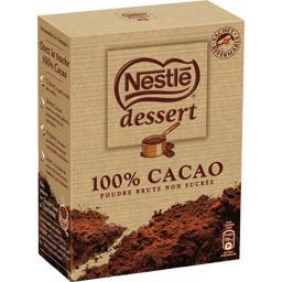 Dessert - Poudre 100% cacao brute non sucrée