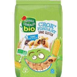 Terres et céréales bio Céréales Crok'Fondant sans gluten BIO le paquet de 375 g