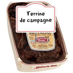Terrine de BRETAGNE Label rouge