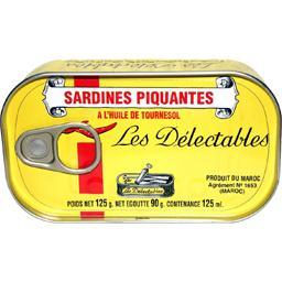 Sardines piquantes à l'huile de tournesol
