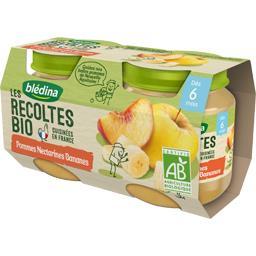 Les Récoltes BIO - Pommes nectarines bananes BIO, dè...