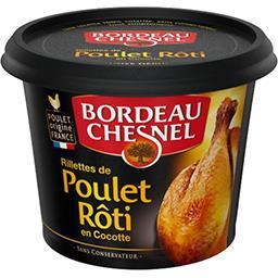 Rillettes de poulet rôti en cocotte