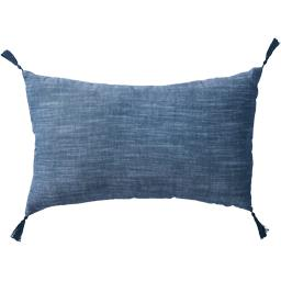 Collection Pastel - Coussin déco 30x50 cm gris anthr...
