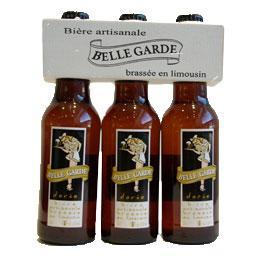 Biere artisanale doree brassee en limousin