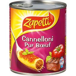 Cannelloni pur bœuf sauce napolitaine