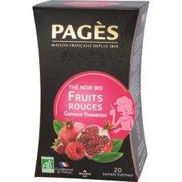 Thé noir Fruits Rouges BIO