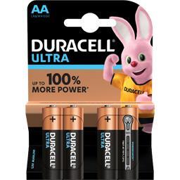 Duracell Piles Alcalines AA LR6 Ultra Power