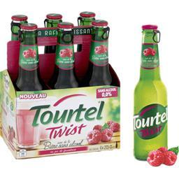 Bière sans alcool Twist au jus de framboise