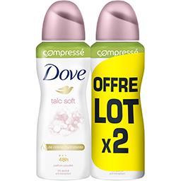 Déodorant Compressé talc soft
