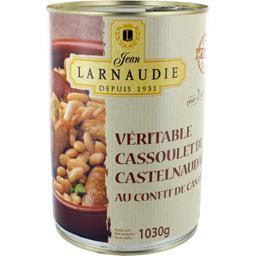 Véritable cassoulet de Castelnaudary au confit de ca...