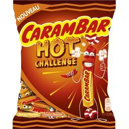 Confiserie  Hot Challenge mangue pimentée, passion p...