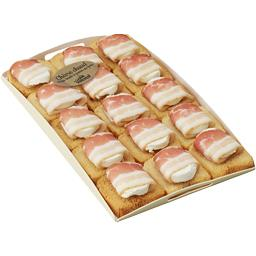 Toast chèvre lard