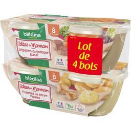 Les Idées de Maman - Légumes du potager bœuf & pomme...