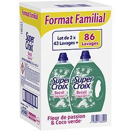 Super Croix Lessive liquide Brésil coco verde & fleur de passion