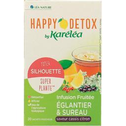 Karéléa Happy Détox - Infusion Ma Silhouette églantier & su... la boite de 20 sachets - 30 g