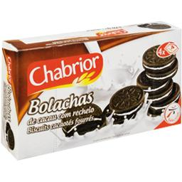 BOLACHAS - Biscuits cacaotés fourrés
