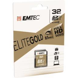Carte mémoire SDHC 32GB UHS1 U1 EliteGold